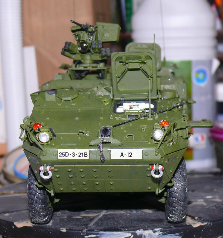 Stryker M1126 de AFV Club et détaillage intérieur Black Dog au 1/35 - Page 2 Stryk160