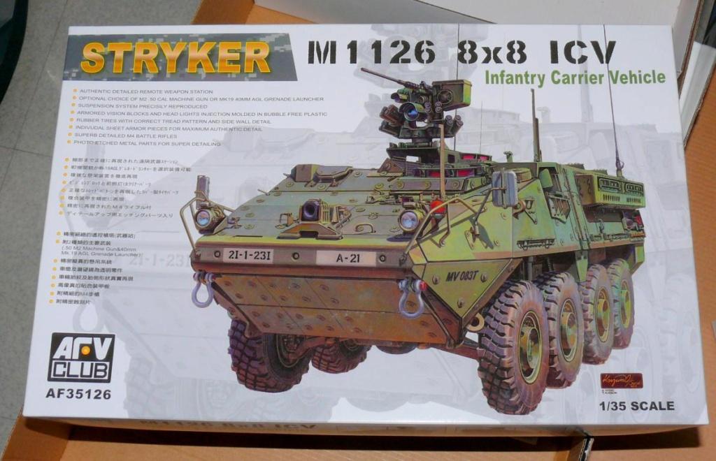 Stryker M1126 de AFV Club et détaillage intérieur Black Dog au 1/35 - Page 2 Stryke11