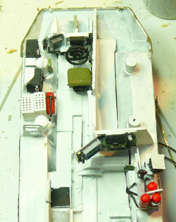 Stryker M1126 de AFV Club et détaillage intérieur Black Dog au 1/35 Stryke27