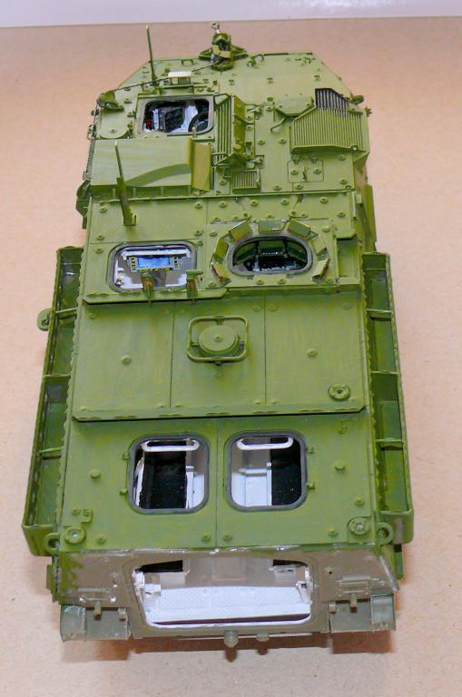 Stryker M1126 de AFV Club et détaillage intérieur Black Dog au 1/35 Stryke78