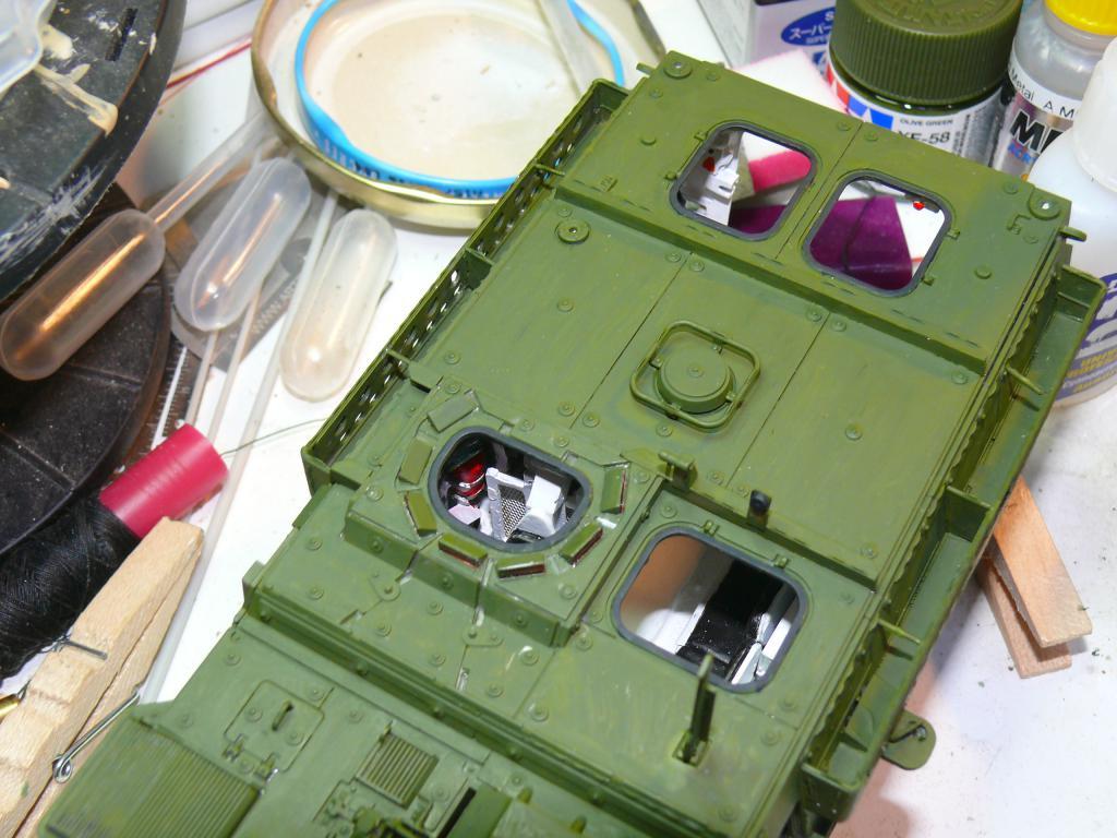 Stryker M1126 de AFV Club et détaillage intérieur Black Dog au 1/35 Stryke80