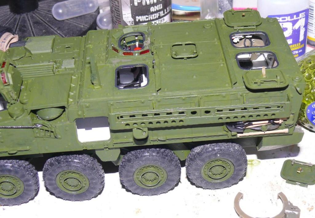 Stryker M1126 de AFV Club et détaillage intérieur Black Dog au 1/35 Stryke91