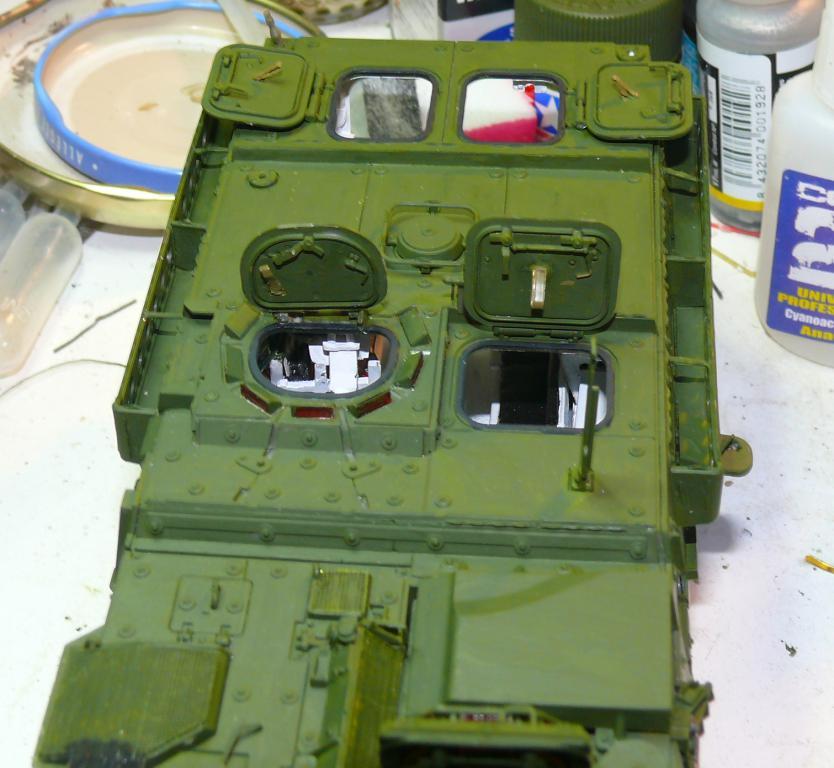 Stryker M1126 de AFV Club et détaillage intérieur Black Dog au 1/35 Stryke96