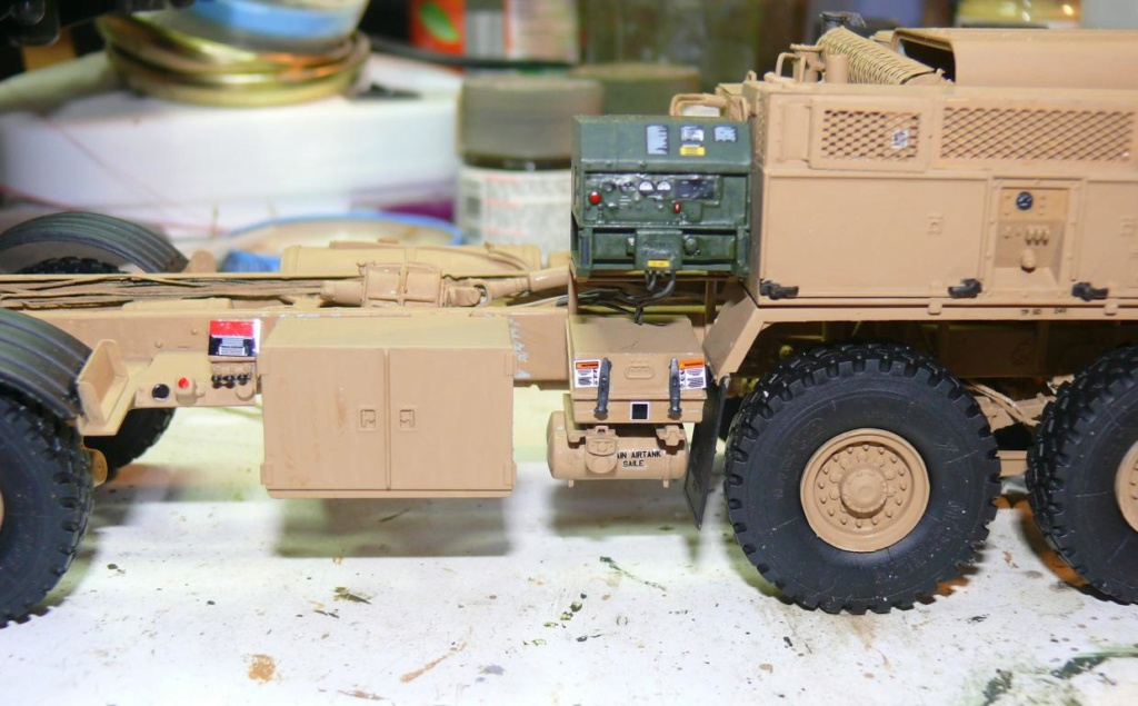 THAAD (Terminal High Altitude Arera Defense) de Trumpeter au 1/35 Thaad102