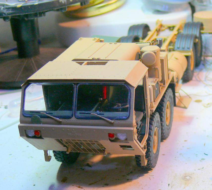 THAAD (Terminal High Altitude Arera Defense) de Trumpeter au 1/35 Thaad124