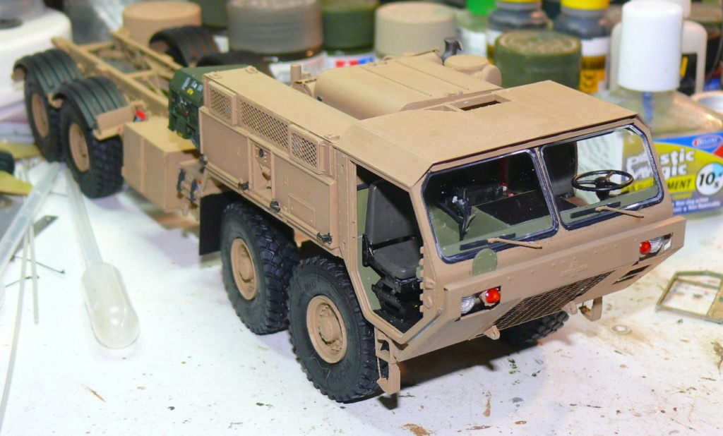 THAAD (Terminal High Altitude Arera Defense) de Trumpeter au 1/35 Thaad125