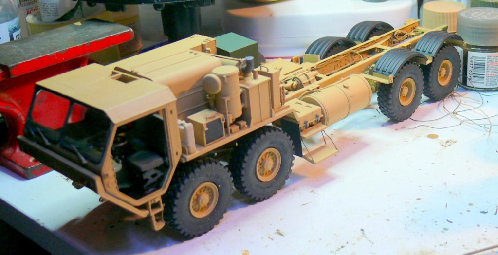 THAAD (Terminal High Altitude Arera Defense) de Trumpeter au 1/35 Thaad128