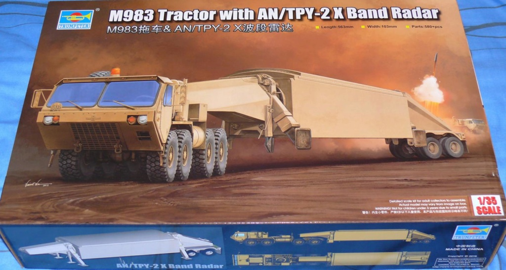 THAAD (Terminal High Altitude Arera Defense) de Trumpeter au 1/35 - Page 2 Thaad130