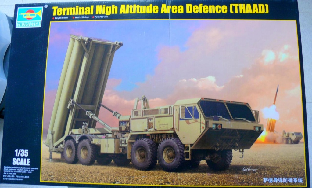 THAAD (Terminal High Altitude Arera Defense) de Trumpeter au 1/35 Thaad_12