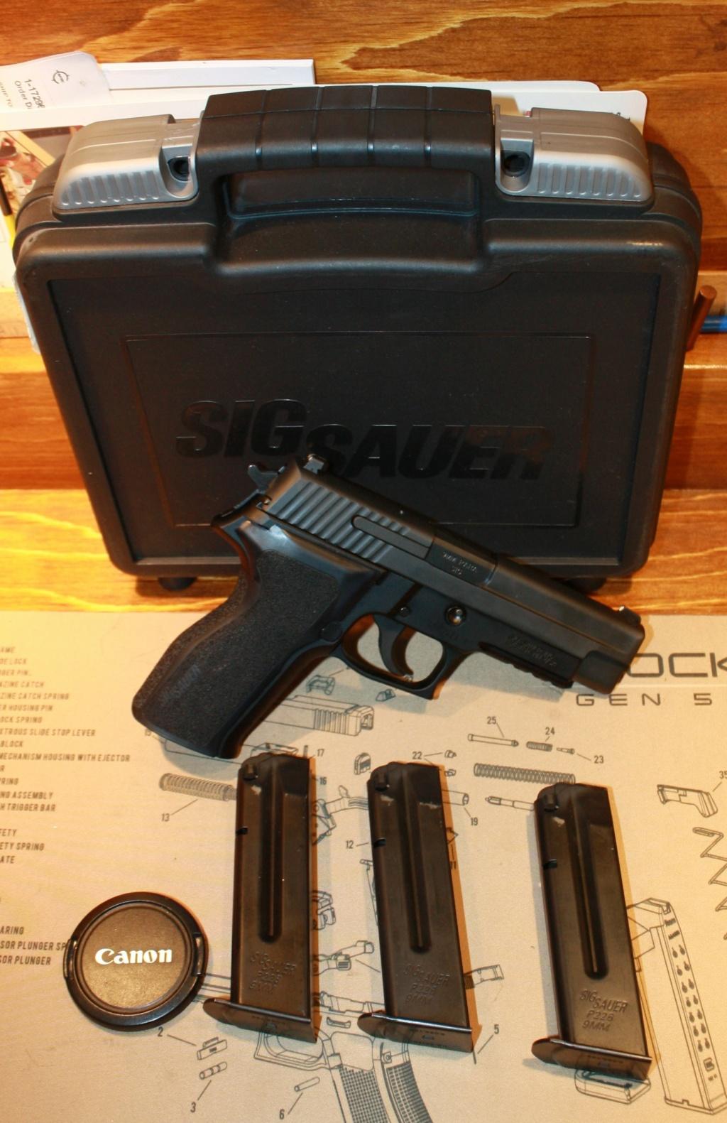 Mon nouveau Bébé Sig P226 est arrivé!!!! Sig_sa10