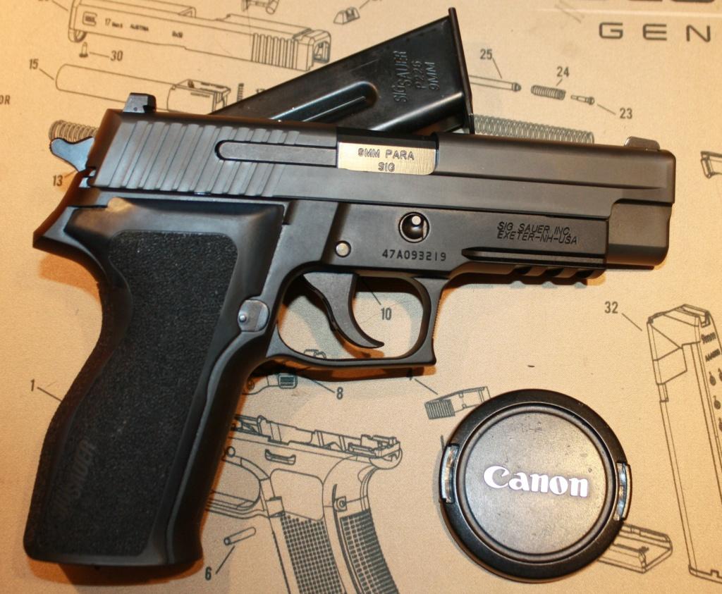 Mon nouveau Bébé Sig P226 est arrivé!!!! Sig_sa13