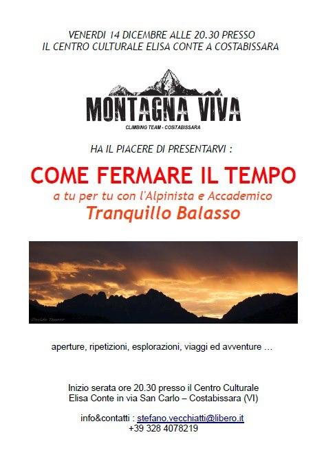 Come fermare il tempo di Tranquillo Balasso - stasera 20.30 Costabissara (VI) 28008_10