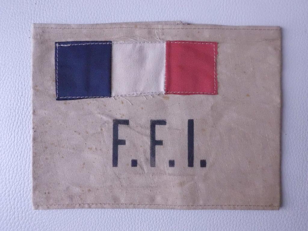 brassard FFI modèle LIBERATION de PARIS Cimg7016