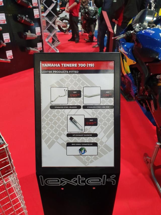 ligne complète Lextek pour T7 Lextek10