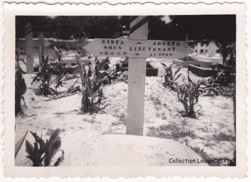 Lieuteant Joseph SINTA 6è BCCP MPLF 1950 Tombe_10