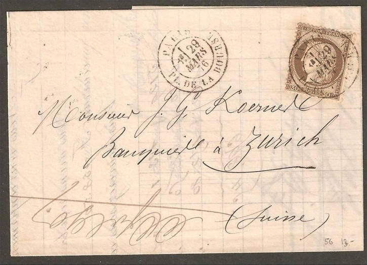 Fin de l'étoile parisienne, mars 1876 Oblite10