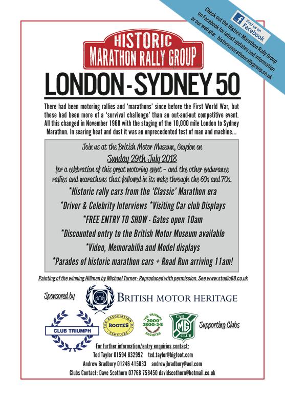 London Sydney at Gaydon on 29 July London10