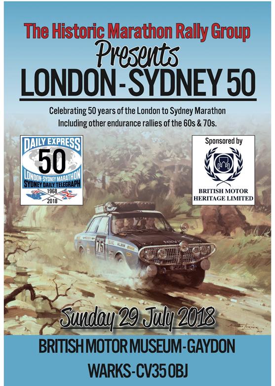 London Sydney at Gaydon on 29 July London11