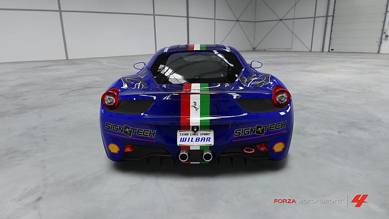 F458 Challenge Troféo de la FTC Forza-15