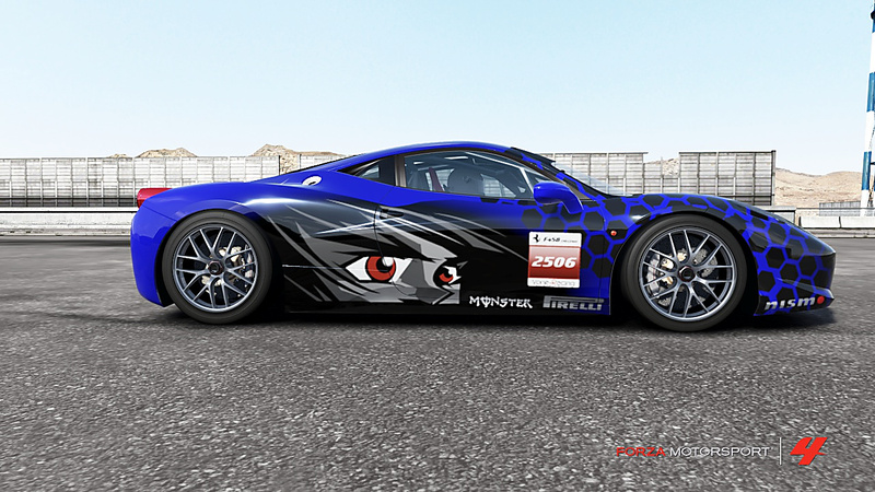 F458 Challenge Troféo de la FTC Forza-16