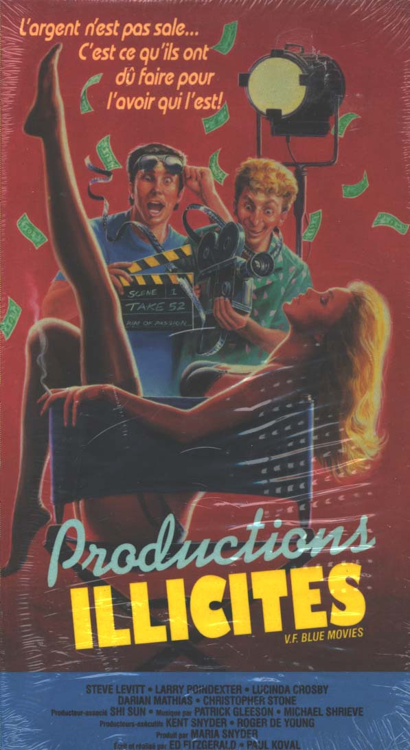 Productions illicites  ( Blue Movies) 1988 Produc10