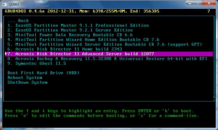 Acronis Disk Director - quản lý và phân vùng ổ đĩa Acroni13