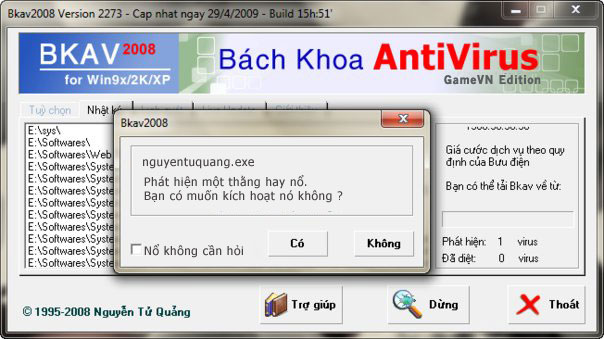 Hưởng ứng ngày An toàn Internet lần thứ 10 Bkav210
