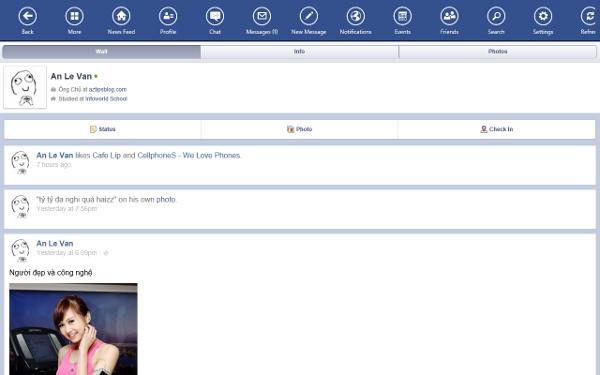 Các ứng dụng được viết lại cho Windows 8 đã có trên Windows Store Facebo13
