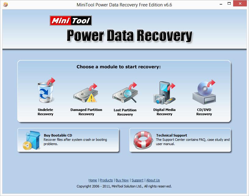 MiniTool Power Data Recovery - phần mềm hữu ích phục hồi tập tin Pdrf6610