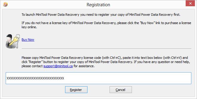 MiniTool Power Data Recovery - phần mềm hữu ích phục hồi tập tin Pdrl6610