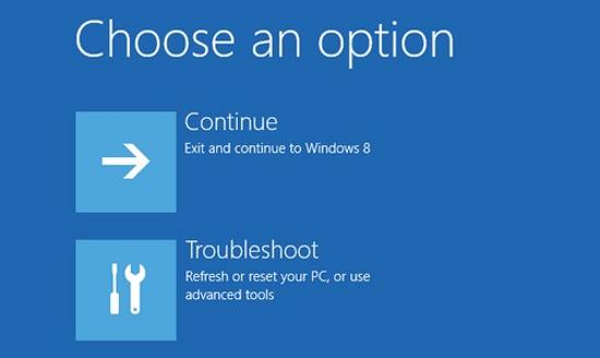 Thay đổi mật khẩu đã quên trên Windows 8 Window23
