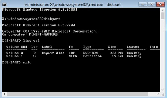 Thay đổi mật khẩu đã quên trên Windows 8 Window26