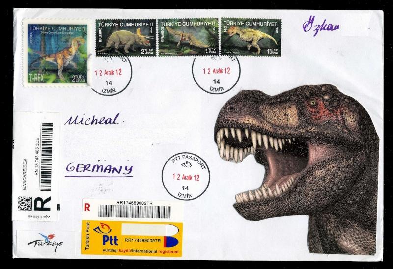 Paleophilatelie: Paläontologie und Philatelie  Turkey10