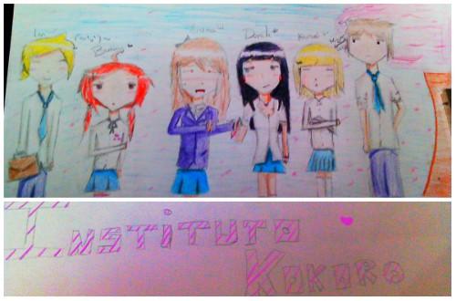 Dibujo del instituto Kokoro-Por Bunny Imag0014