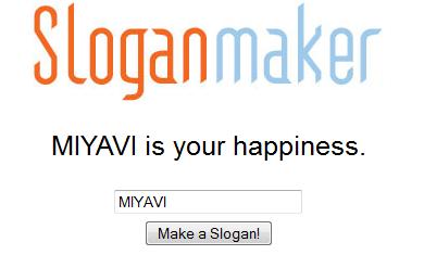 Faire un slogan Slogan13