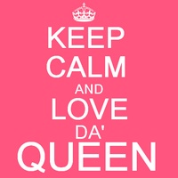 Keep calm and respect me , b♥tch ! Queen's links . Sans_t26