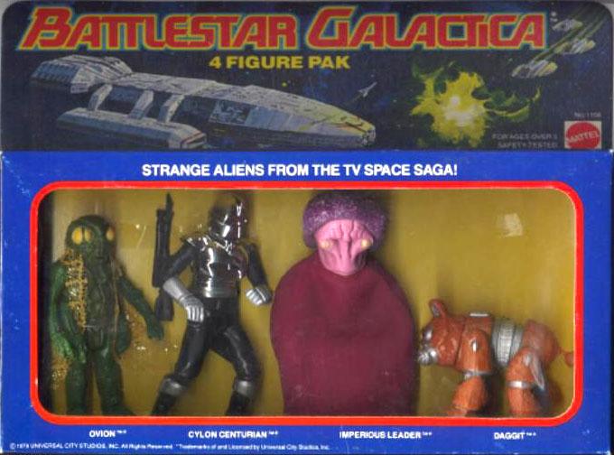 Battlestar galactica (Mattel) 1978 4_pack10