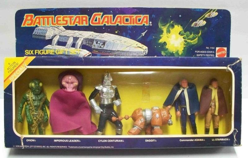 Battlestar galactica (Mattel) 1978 6_pack10