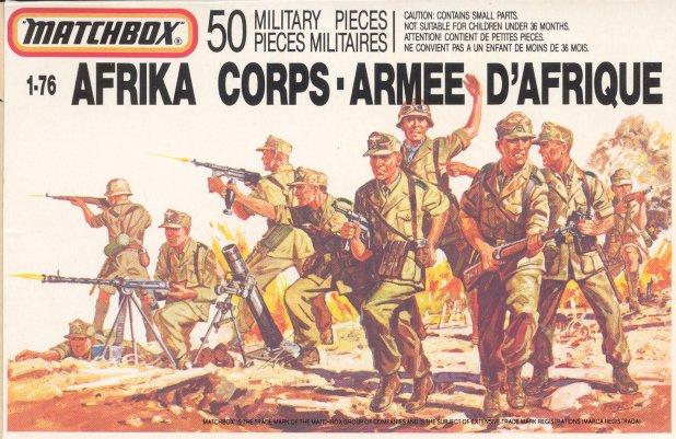 Petits soldats (Airfix, Atlantic, Esci, Matchbox) depuis 1970 Africa10