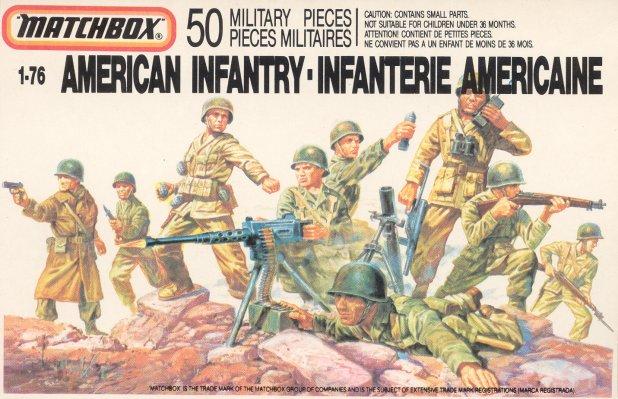 Petits soldats (Airfix, Atlantic, Esci, Matchbox) depuis 1970 Americ10
