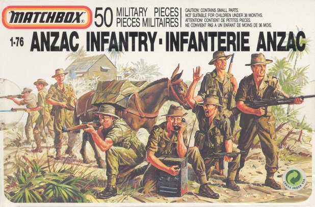 Petits soldats (Airfix, Atlantic, Esci, Matchbox) depuis 1970 Anzac10