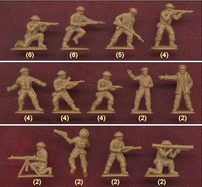 Petits soldats (Airfix, Atlantic, Esci, Matchbox) depuis 1970 Britis11