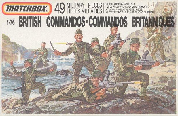 Petits soldats (Airfix, Atlantic, Esci, Matchbox) depuis 1970 Comman10