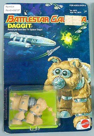 Battlestar galactica (Mattel) 1978 Daggit10