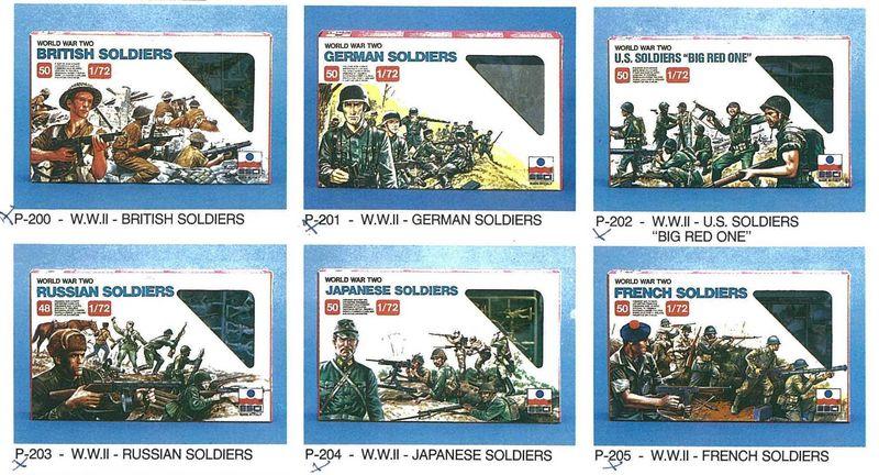 Petits soldats (Airfix, Atlantic, Esci, Matchbox) depuis 1970 Esci_110
