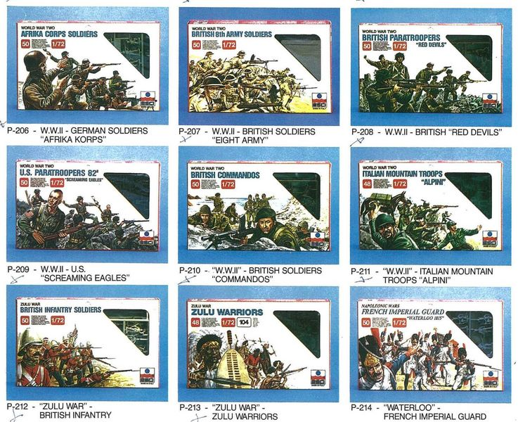 Petits soldats (Airfix, Atlantic, Esci, Matchbox) depuis 1970 Esci_111