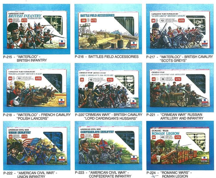 Petits soldats (Airfix, Atlantic, Esci, Matchbox) depuis 1970 Esci_210