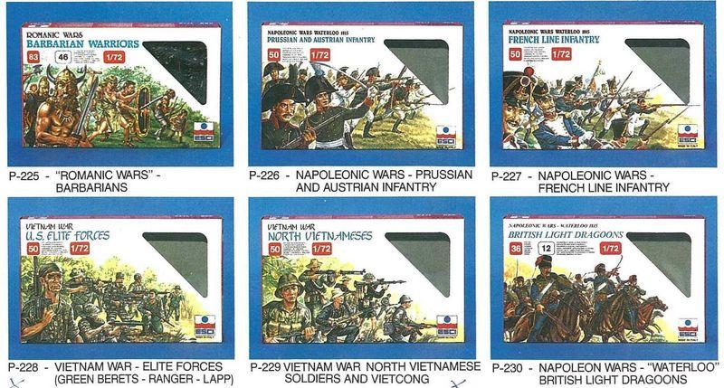 Petits soldats (Airfix, Atlantic, Esci, Matchbox) depuis 1970 Esci_211