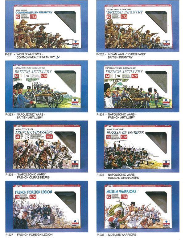 Petits soldats (Airfix, Atlantic, Esci, Matchbox) depuis 1970 Esci_310