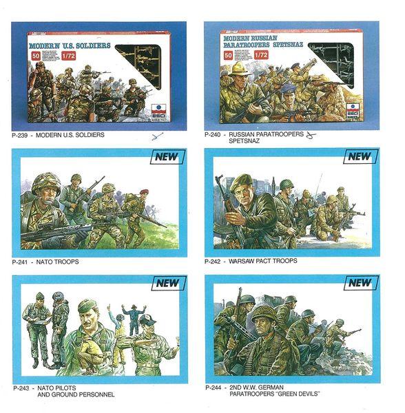 Petits soldats (Airfix, Atlantic, Esci, Matchbox) depuis 1970 Esci_410